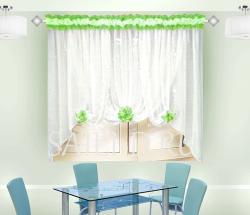 Купить тюль шторы B009 салат